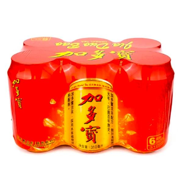 Jia Duo Bao Herbal Tea 6x310ml