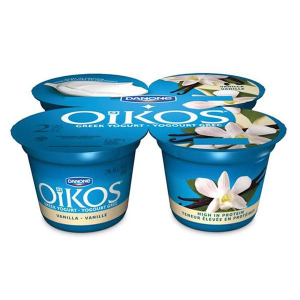 Danone Oikos Greek Yogurt-Vanilla  4x100g