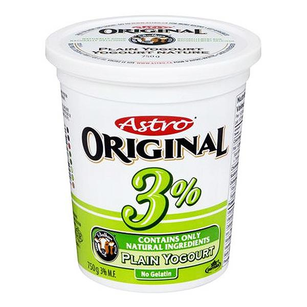 Astro 3% Yogurt-Original 750g