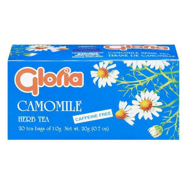 Gloria Camomile Herb Tea 20g