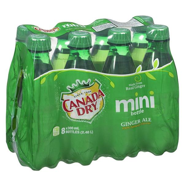 Canada Dry Mini Bottles  8*300ml
