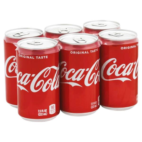 Coca Cola Mini 6*222ml