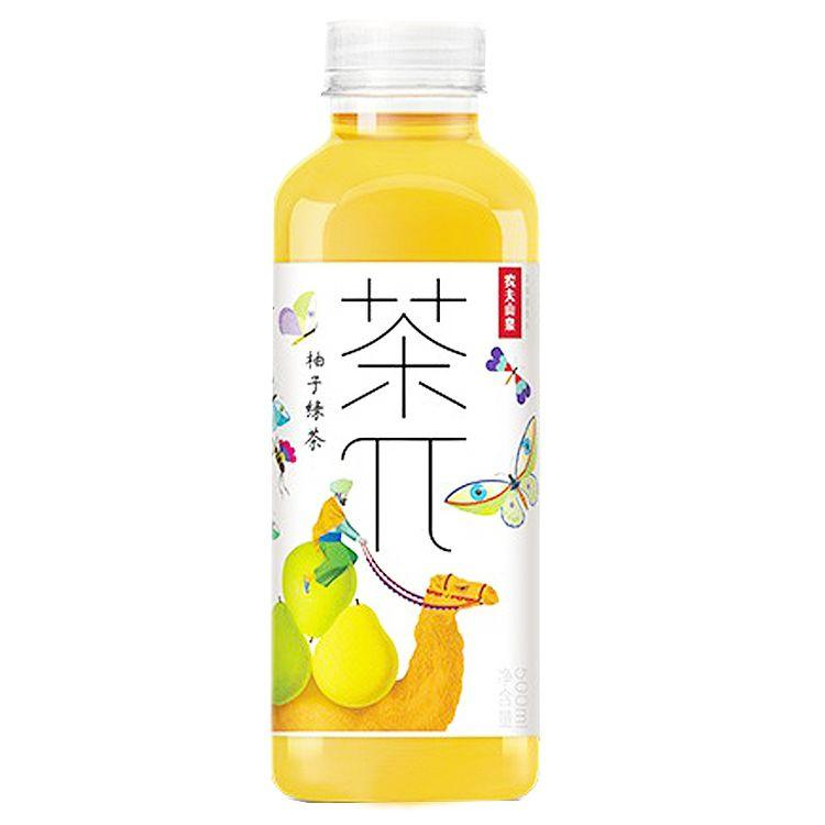 NFSQ Grapefruit Green Tea 500ml