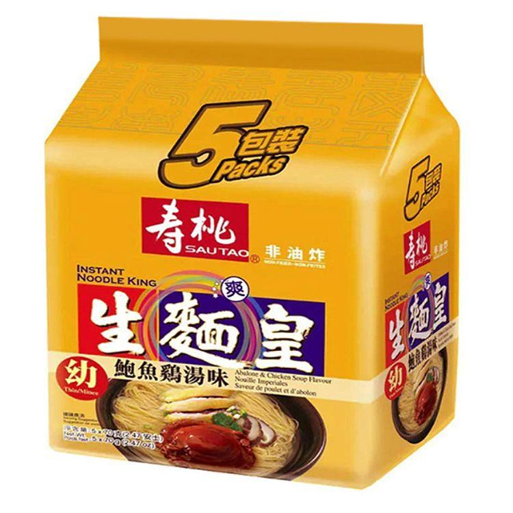 Sau Tao Abalone & Chicken Soup Flavour(Thin) 375g(75g*5)