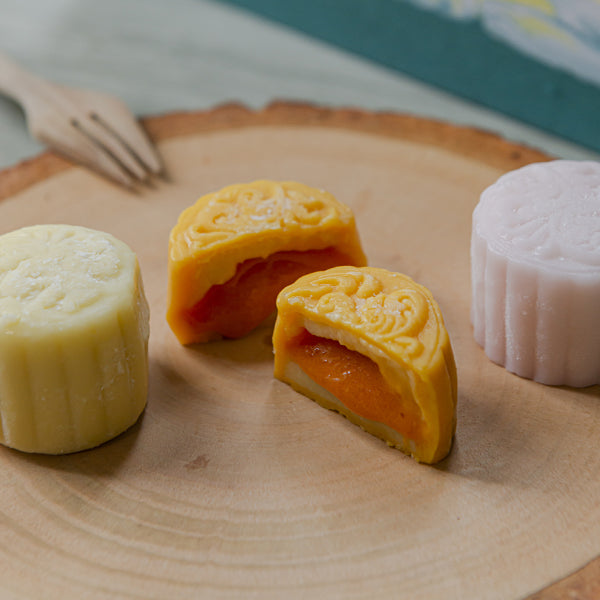 Buono Snow Skin Mooncake(Made with Fresh Durian) 55g*6