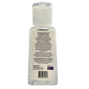 Aushygienics Non-Flammable Instant Hand Sanitiser Gel 50ml