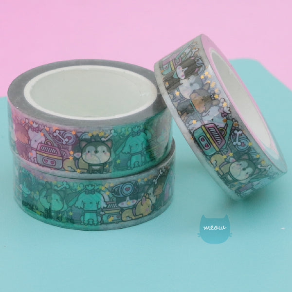 Washi Foil Doggy