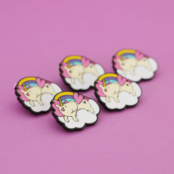 Pin uni rainbow