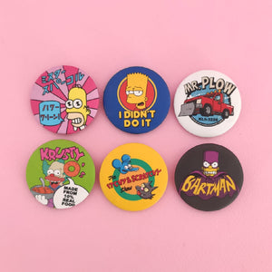 Pins collection simpson