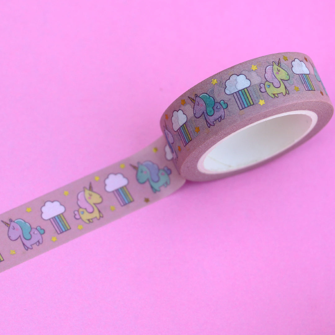 Washi Unicorn Bubble