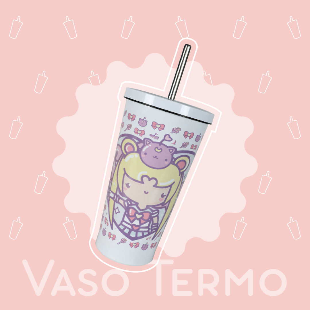 Vaso Termo: Sailor Moon