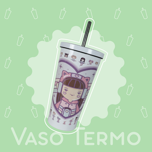 Vaso Termo: Polly Headphones