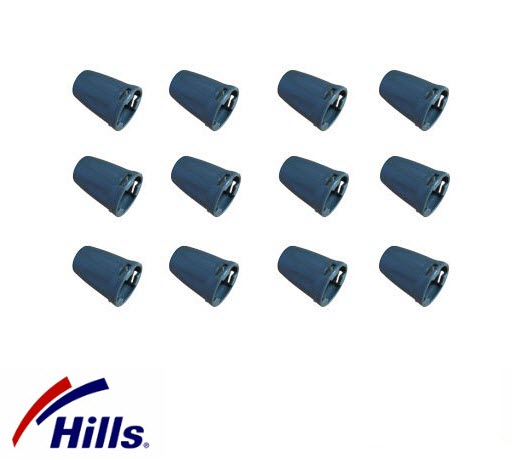Hills Supafold & Portable Tie Off Caps 12 Pack