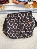 SkipHop Black Diaper Bag