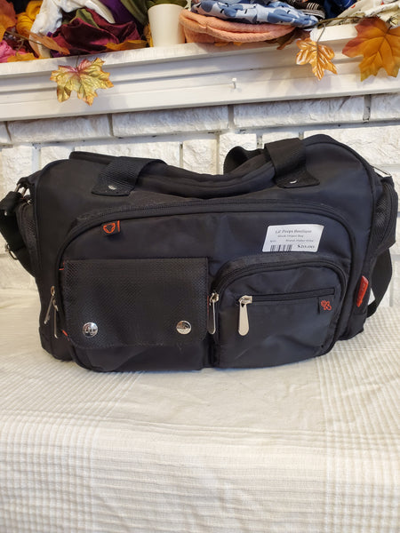 Fisher Price Black Diaper Bag