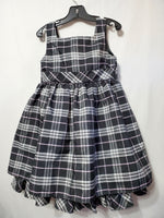 Black Plaid Dress, 5