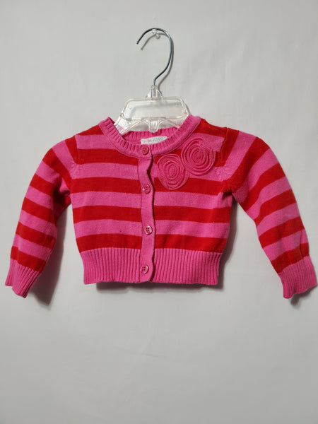 Striped Cardigan, 6/9M