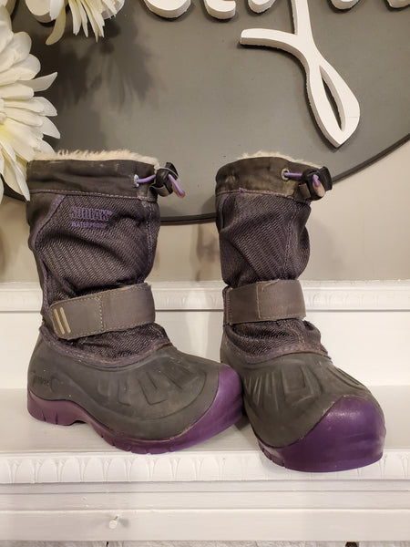 Grey Winter Boots, 10T