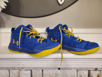 Under Armour Blue Sneakers, 7.5Y