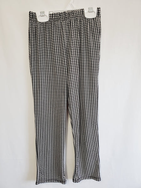 Black and White Pattern Pants, 6