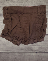 Brown Shorts, 3/6M