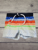 Striped Swim Shorts, 0/3M