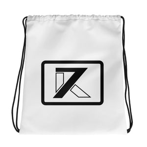 WHITE DRAWSTRING BAG - K7