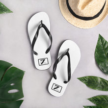 Load image into Gallery viewer, WHITE FLIP-FLOPS - K7
