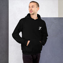 Load image into Gallery viewer, BLACK UNISEX HOODIE - K7