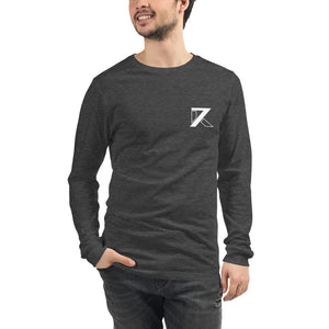 BLACK UNISEX LONG SLEEVE TEE - K7
