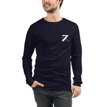 Load image into Gallery viewer, BLACK UNISEX LONG SLEEVE TEE - K7