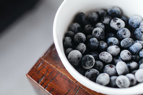 Freeze Blueberries to Enjoy all year