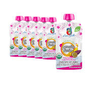 Passion Fusion 10 count - 4 oz Organic Stage 2 Baby Food Pouches