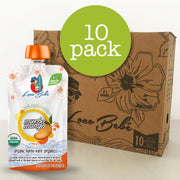10 pack of your favorite Organic Baby Food from Loco Bebe