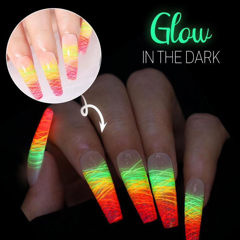 Luminous Spider Nail Gel