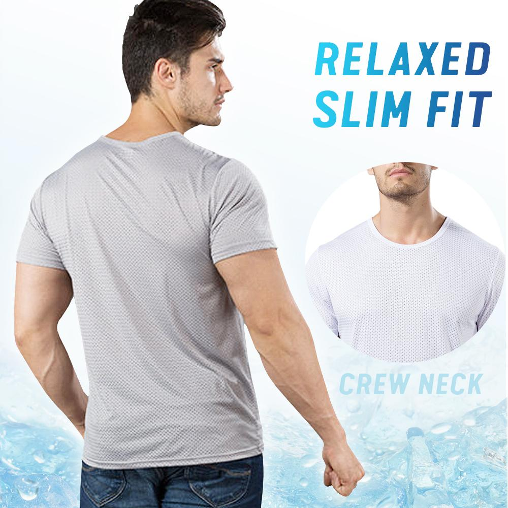 Ice Silk Quick Dry Cooling T-shirt