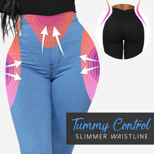 Skinny Stretch Pull-On Jeggings For Curvy