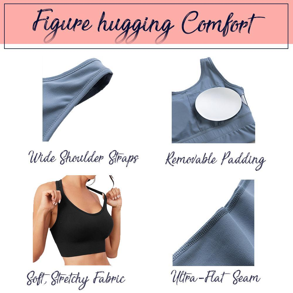 Seamless Comfy Lift Yoga Bra Top