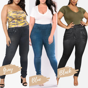 Plus Size Perfect Fit Jeans Leggings (New)