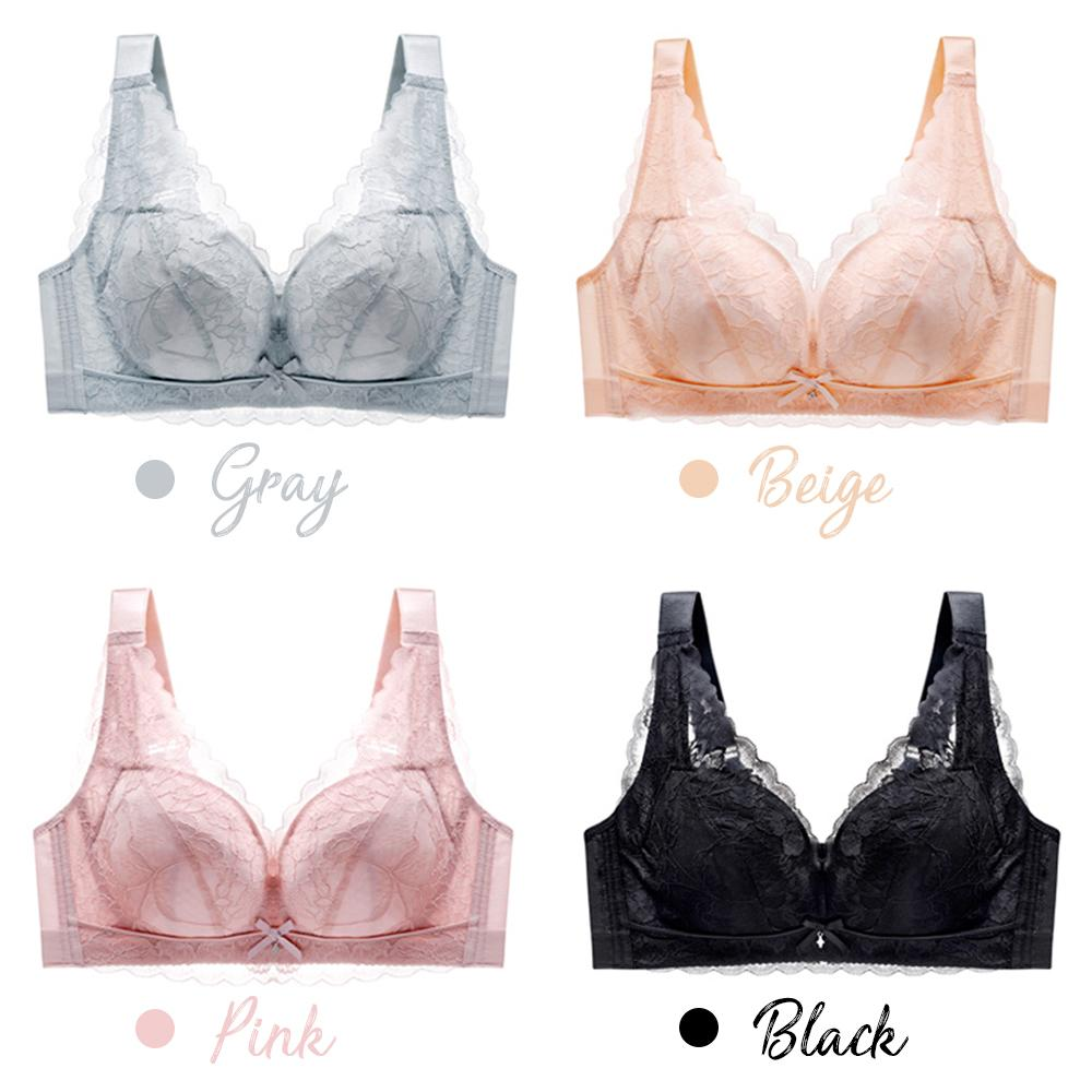 Full Coverage Plus Size Lace Bra