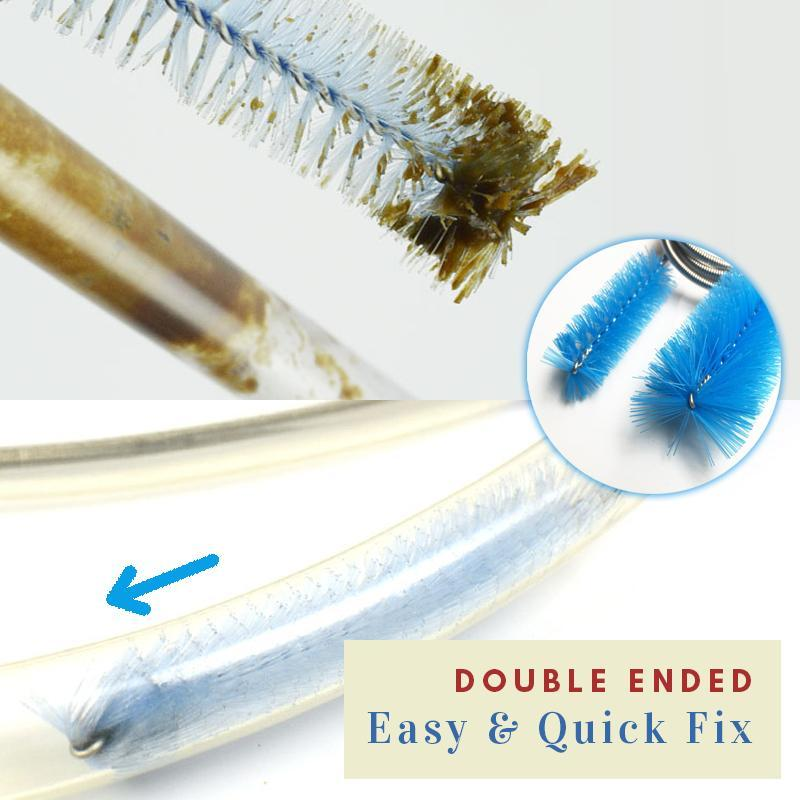 Long Flexible Refrigerator Scrub Brush