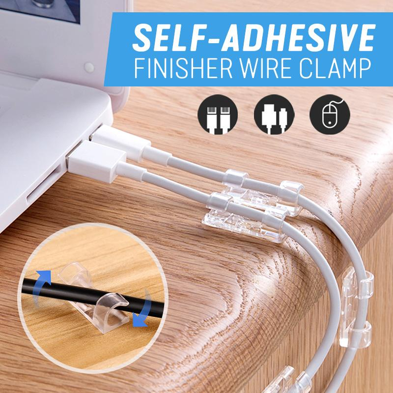Self-Adhesive Finisher Wire Clamp
