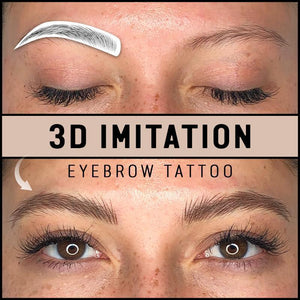 3D Imitation Eyebrow Tattoos