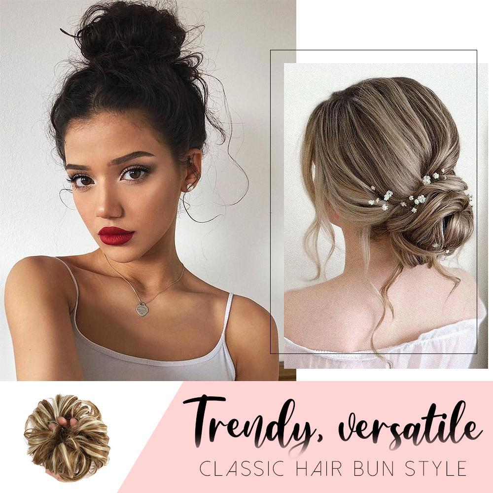 One Step Hair Updo Bun