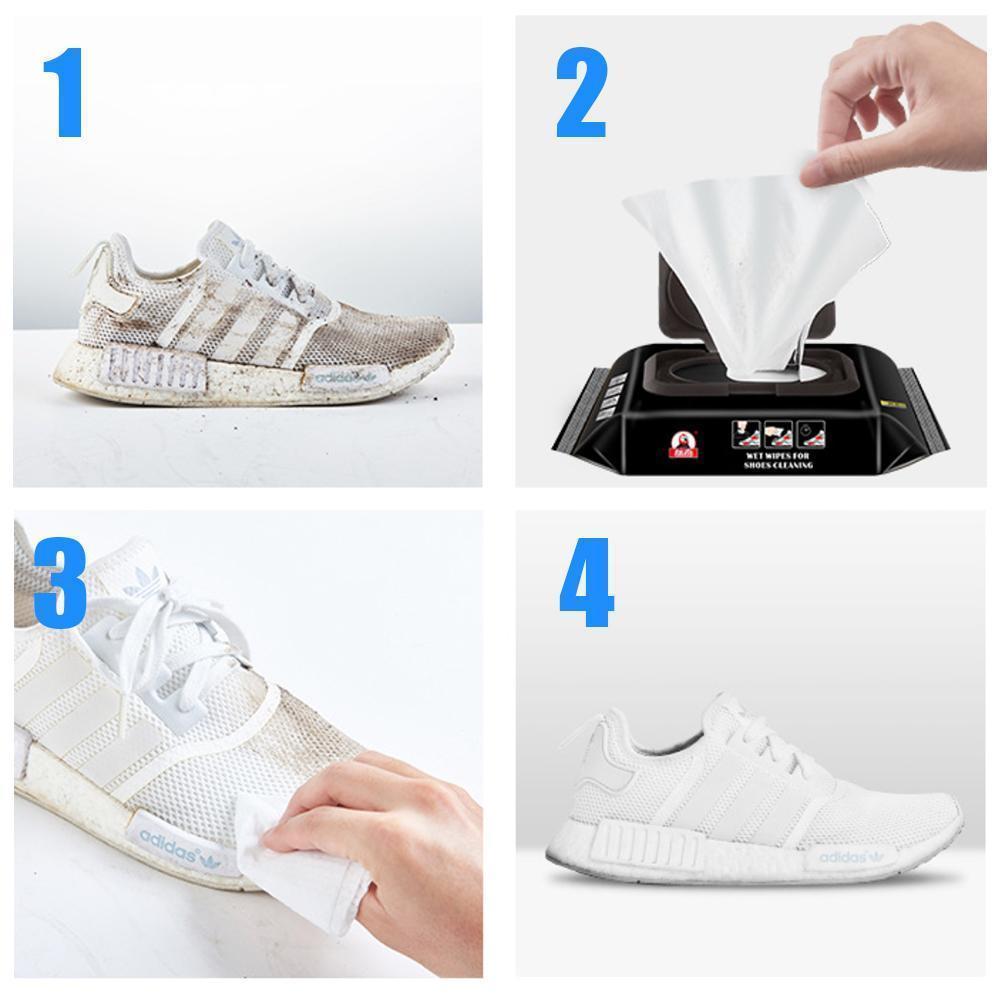 Emergency Sneaker Quick Wipes