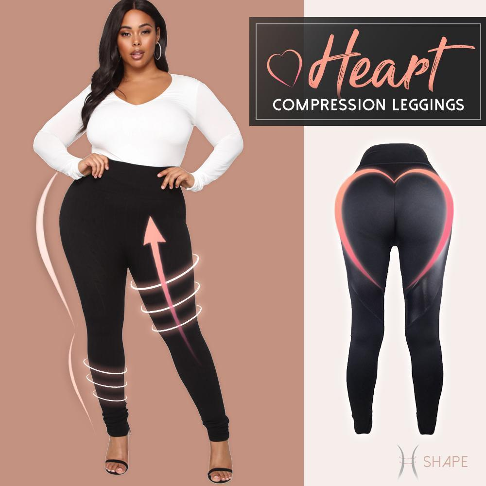 Heart Compression Leggings