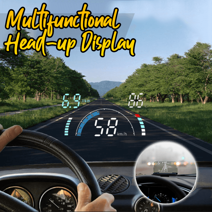 Multifunctional Car Head-Up Display (HD)