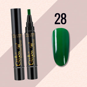 18 Colors One Step Nail Polish Pen