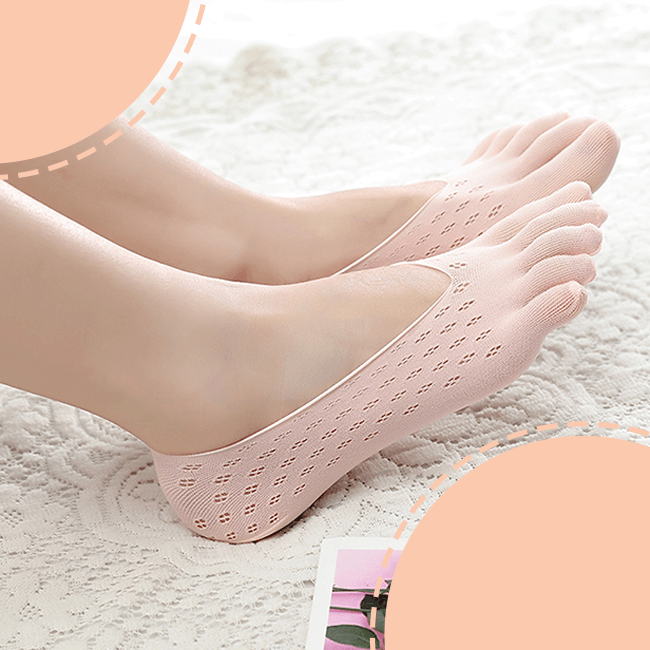 Five Finger Invisible Toe Socks
