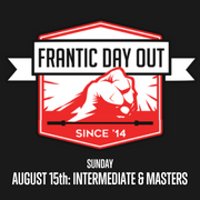 FRANTIC DAY OUT 2021 DAY 2 (Intermediate & Masters)
